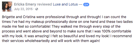 Luxe and Lotus Review - Ericka
