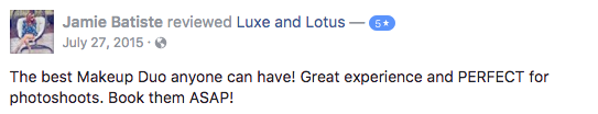 Luxe and Lotus Review - Jamie