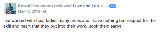 Luxe and Lotus Review - Kewal
