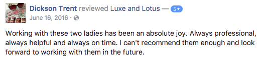 Luxe and Lotus Review - Trent