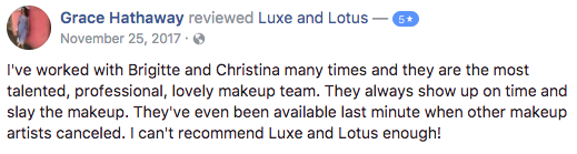 Luxe and Lotus Review - Grace